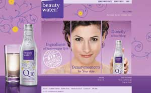 beautywater Q10 Shop Projekt
