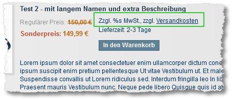 magento german setup zzgl s mwst zzgl versandkosten commercers magento problem blog. Black Bedroom Furniture Sets. Home Design Ideas