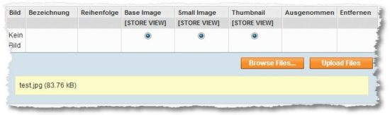 Magento – Immer häufiger funktioniert der Bilder-Upload im Backend nicht mehr