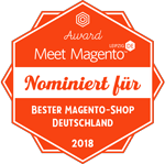 """Wir"" sind nominiert – Top Ten ""Bester Magento-Shop Deutschland"" der Meet Magento DE Awards 2018"