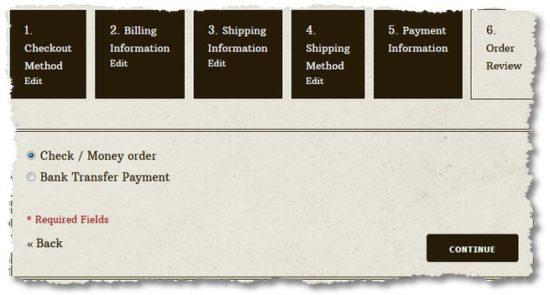 "Magento – Kasse hängt bei Schritt 4 ""Zahlungsarten"""