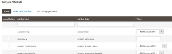 Magento 2 – Produkt-Export alle markieren / Haken setzen