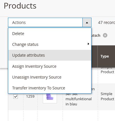 Magento 2 – Produkt-Attribute aktualisieren wird gequeued aber nicht ausgeführt